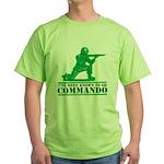 Commando Green T-Shirt