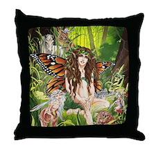 Ruth Thompson's Terra Faerie Throw Pillow