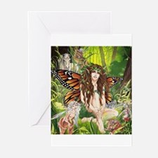 Ruth Thompson's Terra Faerie Greeting Cards (Pk of