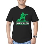 Commando Men's Fitted T-Shirt (dark)