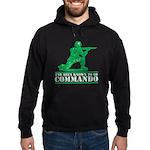 Commando Hoodie (dark)