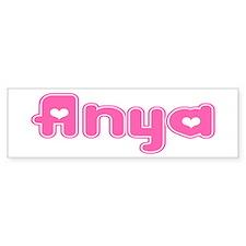 """""""Anya"""" Bumper Bumper Sticker"""