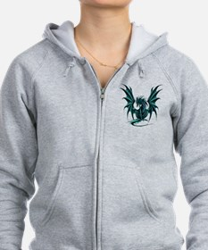 Ruth Thompson's Jade Dragon Zip Hoodie