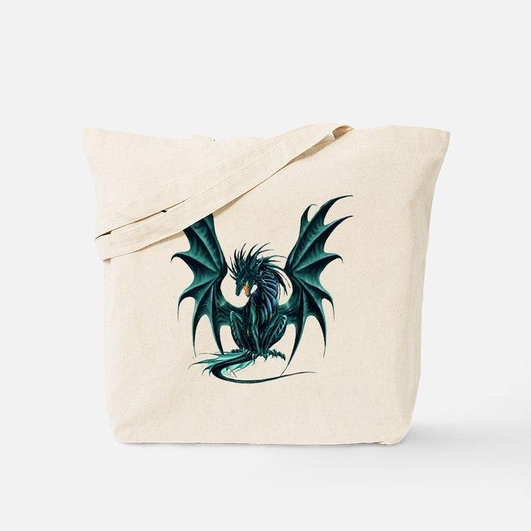 Ruth Thompson's Jade Dragon Tote Bag