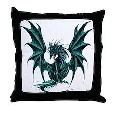 Ruth Thompson's Jade Dragon Throw Pillow