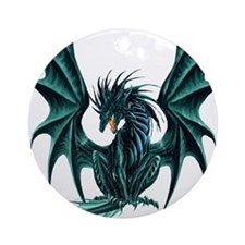 Ruth Thompson's Jade Dragon Ornament (Round)