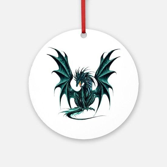 Ruth Thompson's Jade Dragon Ornament (Round)
