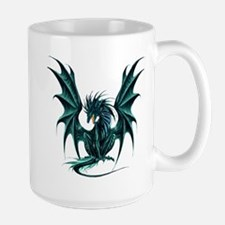 Ruth Thompson's Jade Dragon Large Mug