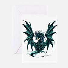 Ruth Thompson's Jade Dragon Greeting Cards (Pk of