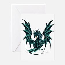 Ruth Thompson's Jade Dragon Greeting Cards (Pk of