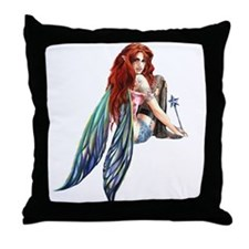 Ruth Thompson's PussnBoots Faerie Throw Pillow