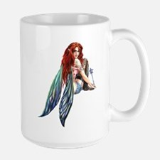 Ruth Thompson's PussnBoots Faerie Large Mug