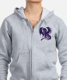 Ruth Thompson's Draconis Nox Dragon Zip Hoodie