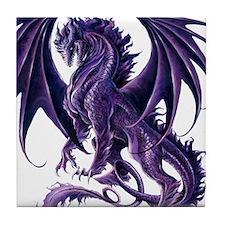 Ruth Thompson's Draconis Nox Dragon Tile Coaster