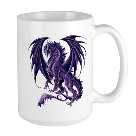 Ruth Thompson's Draconis Nox Dragon Large Mug