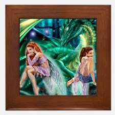 Ruth Thompson's Gemini Faeries Framed Tile