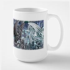 Ruth Thompson's Checkmate Dragon Large Mug