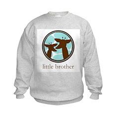 giraffe little brother Sweatshirt
