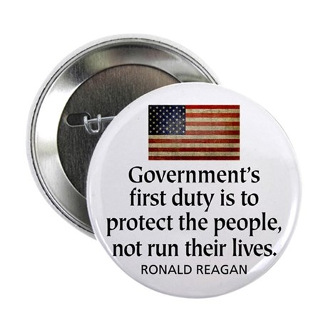 "REAGAN: Government's first duty... QUOTE 2.25"" But"