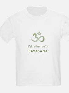 2-savasana T-Shirt