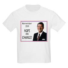 Reagan Hope & Change T-Shirt