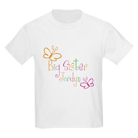 Big Sister Jordyn Kids Light T-Shirt
