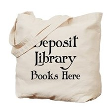 Funny Library Book Tote Bag