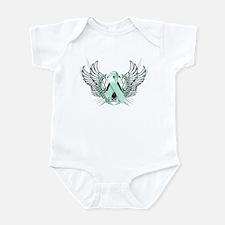 Awareness Tribal Teal Infant Bodysuit