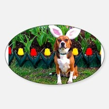 Beagle Easter Decal