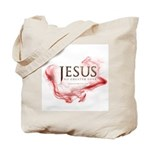 Jesus...No Greater Love Tote Bag