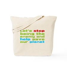 Help Planet Tote Bag
