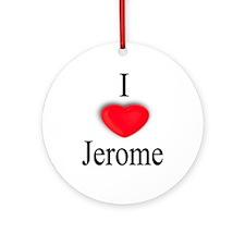 Jerome Ornament (Round)