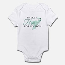 There's Hope for Ovarian Cancer Mom Infant Bodysui