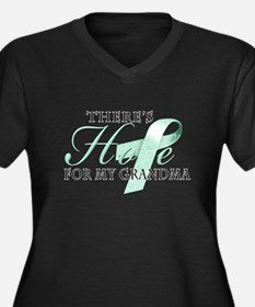 There's Hope for Ovarian Cancer Grandma Women's Pl