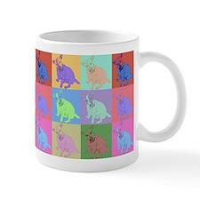 Warhol Style Jack Russell Design on Mug
