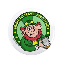 "St. Patricks Day 3.5"" Button"