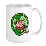 St. Patricks Day Large Mug