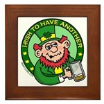 St. Patricks Day Framed Tile