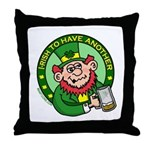 St. Patricks Day Throw Pillow