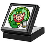 St. Patricks Day Keepsake Box