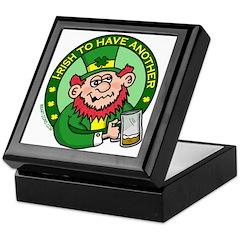 St. Patricks Day Keepsake Box
