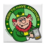 St. Patricks Day Tile Coaster