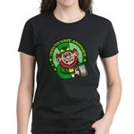 St. Patricks Day Women's Dark T-Shirt