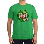 St. Patricks Day Men's Fitted T-Shirt (dark)
