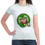 St. Patricks Day Jr. Ringer T-Shirt