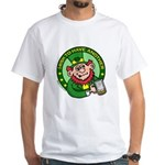 St. Patricks Day White T-Shirt