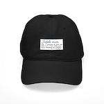 Promise Black Cap