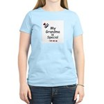 MY GRANDMA IS SPECIAL Women's Pink T-Shirt