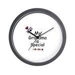 MY GRANDMA IS SPECIAL Wall Clock