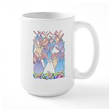 Happy Easter Bunnies Mug